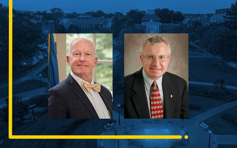 Gary Henry (left) is the dean of the University of Delaware's College of Education and Human Development. Dan Rich is a professor in UD's Joseph R. Biden, Jr. School of Public Policy and Administration.
