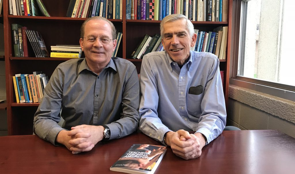 Ralph P. Ferretti and James Hiebert, professors in the School of Education, have published a new collection on Teachers, Teaching, and Reform.
