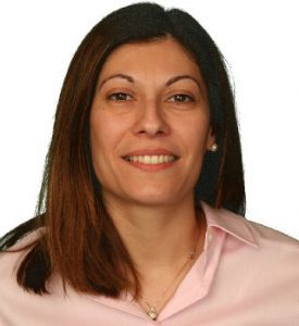 Image shows head shot of Chrystalla Mouza, director and professor in the School of Education.