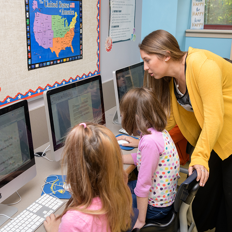 Teaching students technology