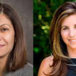 This image shows headshots of Chrystalla Mouza on the left and Rachel Karchmer-Klein on the right.