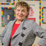 Roberta Golinkoff stands in her Child's Play, Learning, and Development Lab.